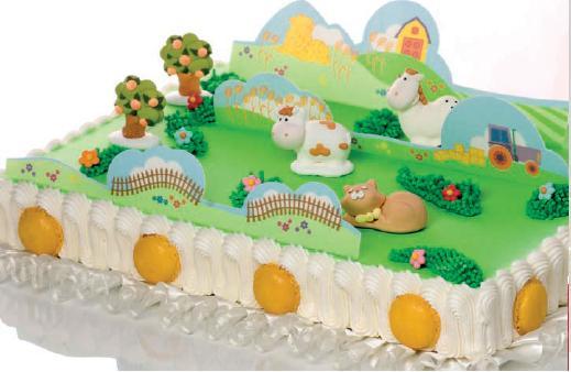 Вафельные фотопластины на торт